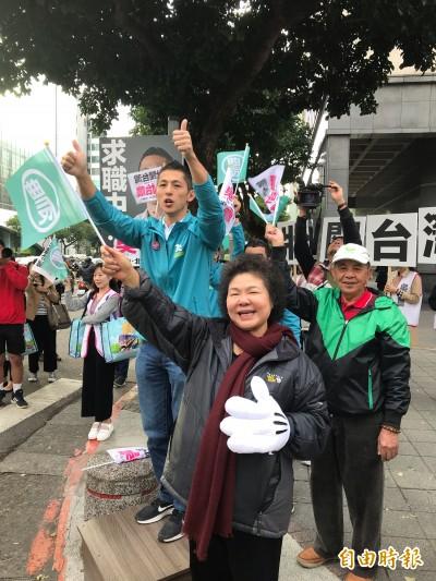 民調直追蔣萬安 吳怡農:內部數字更樂觀