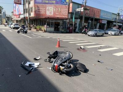 東海大學女學生撞汽車重摔喪命 驚悚畫面曝光