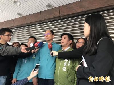 國民黨反對反滲透法 游錫堃:藍已變紅了
