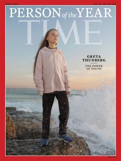 時代雜誌風雲人物揭曉 16歲瑞典環保少女桑伯格獲選