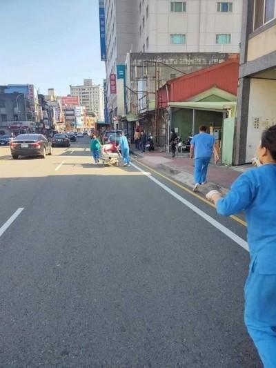 天使感動網友!貨車司機路上癲癇發作 護理師不顧規定衝去救人