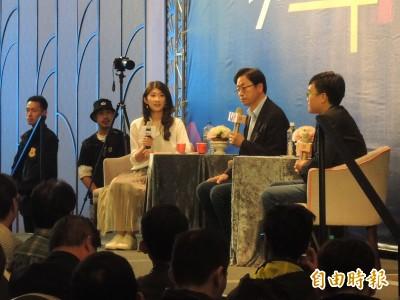 青年質疑韓國瑜的誠信 張善政:因為民進黨太惡劣