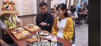 陳其邁與網紅逛夜市吃美食 宣傳夜市抵用券
