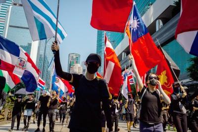 反送中影響台灣民意 《遠見》:支持泛綠新高、對中國反感增加