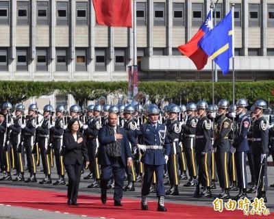 外交部:台諾友好 諾魯總統上任後首次出訪就來台灣