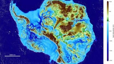 藏身海平面下3.5km!全球陸地最低點曝光