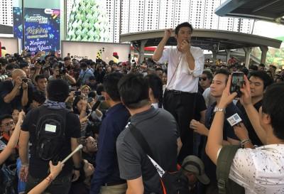 拒絕獨裁軍政府 泰國近年最大規模反政府示威