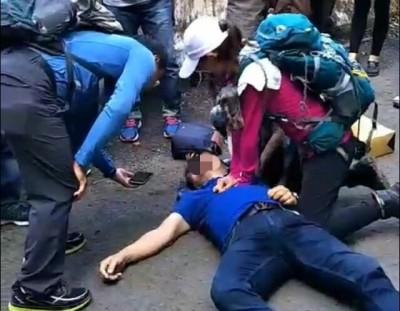 CPR救回溪頭男遊客 紫衣天使:抄捷徑遇上「天意」