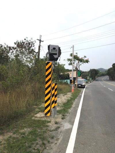 注意了!台南山區「百萬照相館」 再添1測速桿