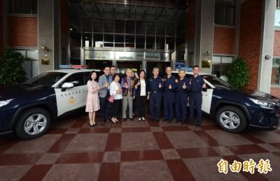 提升打擊犯罪動力 彰化警局首獲民間捐2輛警車