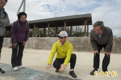 大安濱海樂園更新設施  望海媽祖雕像、沙雕美術館和景觀橋待完成