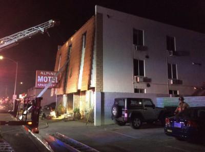 1980年來最嚴重!賭城公寓大火釀6死13傷