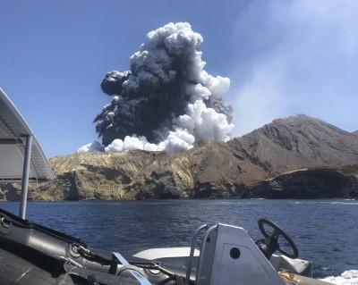 從人間蒸發了...紐西蘭停止尋找火山爆發2名失蹤者