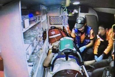 台南鹽水工安意外 1工人遭電擊當場失去呼吸、心跳