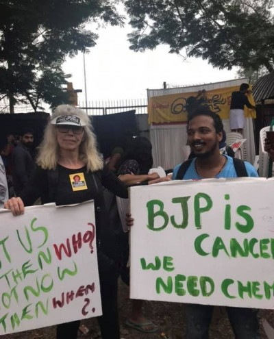 參與印度示威 挪威遊客遭遣返
