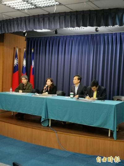 反滲透法》韓陣營:蔡政府強推立法 宛如威權復辟