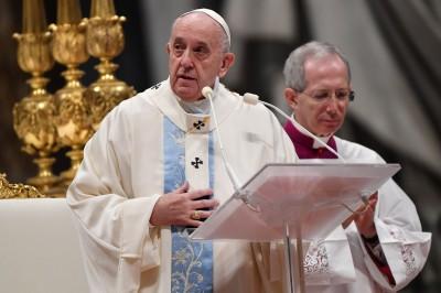 教宗新年文告 譴責對女性施暴行徑