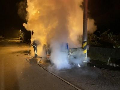 詭異!銅鑼鄉火燒車 車主驚:不是停在通霄家門口?