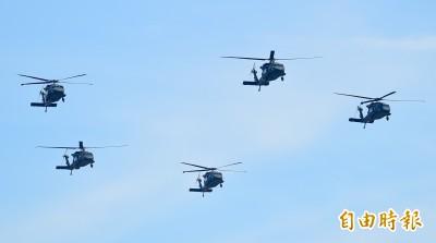 黑鷹失事》台灣採購60架UH-60M 5年折損2架