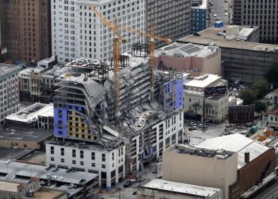 悚!美興建中飯店坍塌3死數十傷 還有2遺體卡在裡面