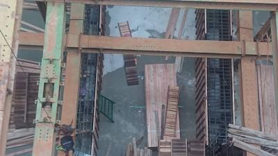 林口驚傳工安意外 工人墜樓命危
