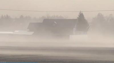 北海道天候異常沒暴風雪 罕見吹起沙塵暴