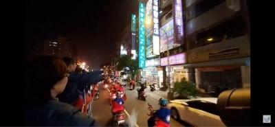 葉匡時率韓粉車隊遊街  前市府官員:交通打結、公車司機大罵