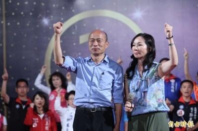 韓國瑜陣營喊夢時代選前之夜50萬人 綠營打臉︰頂多10萬人
