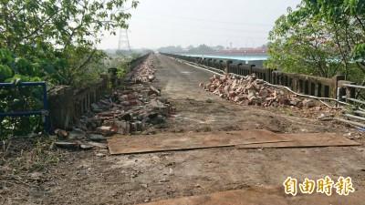 91年歷史古蹟曾文溪渡槽橋  修復工程啟動