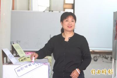 南投蔡培慧返鄉投票:台灣中小企業研發實力令人刮目相看