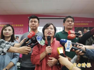 劉世芳自行宣布當選 感謝黃昭順、郭新政的競爭