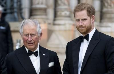 哈利梅根退居王室二線 查爾斯王子傳威脅切斷金援