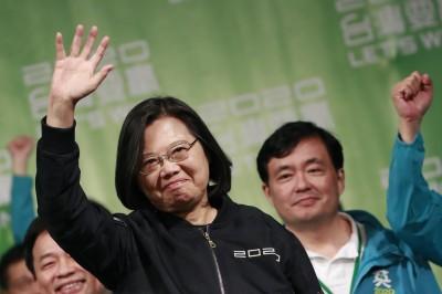 蔡英文壓倒性勝選 法新社:給北京一重擊