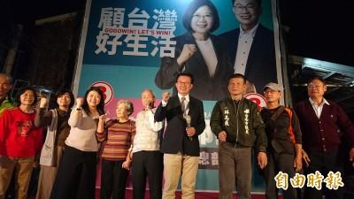 郭國文狂拿台南12萬票 勝選密碼3票倉各贏1萬票