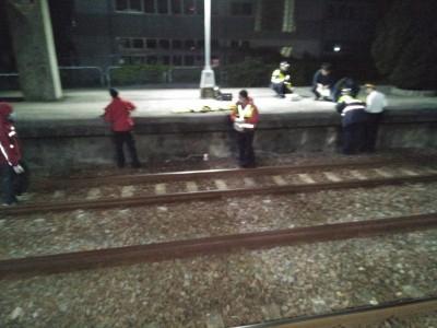 老翁闖造橋車站鐵軌 遭普悠瑪撞死