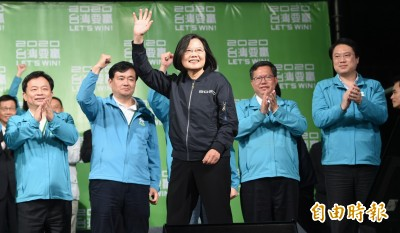 總統蔡英文贏大選 新加坡表達祝賀