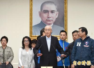 回應青壯派要求辭主席 黨內人士:吳敦義說得非常清楚了