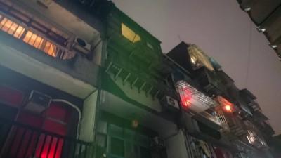 三重公寓暗夜火警 1男燒到焦黑身亡