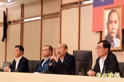 銷假上班 韓國瑜:市府團隊會全力以赴 一切回歸市政