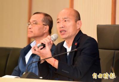 銷假上班首場記者會問飽問滿 韓國瑜:鄭重向市民道歉