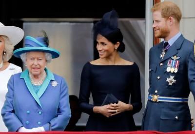 英女王點頭成全哈利夫婦 可在英國、加拿大輪流住