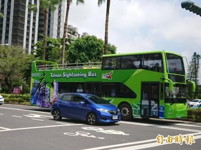 台南迎接春節遊客 雙層巴士推經典路線、優惠票價