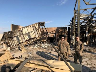 內部照片首次曝光!遭伊朗飛彈轟炸 美軍基地現在長這樣...