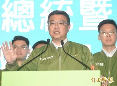 卓榮泰建議:蔡英文提前回任黨主席