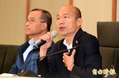 韓放鳥國際記者會吃鍋 同黨議員批理由薄弱:太不應該