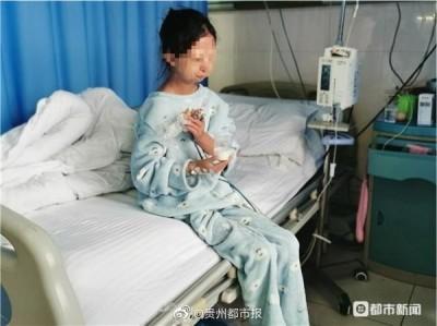 中國貪官對比貧女!4千瓶茅台倒馬桶、女大生營養不良病逝