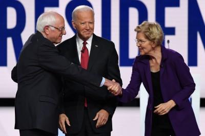 民主黨辯論將至 桑德斯被爆曾說「女人無法勝選」
