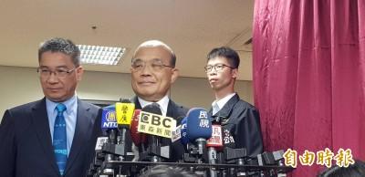 國台辦嗆共同決定台灣前途  蘇貞昌回擊:「別的國家」不要說長道短