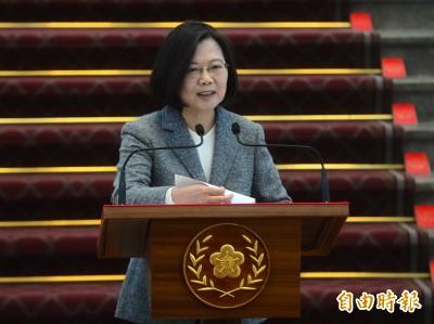不提前回任民進黨主席 蔡英文:卓榮泰貢獻卓著