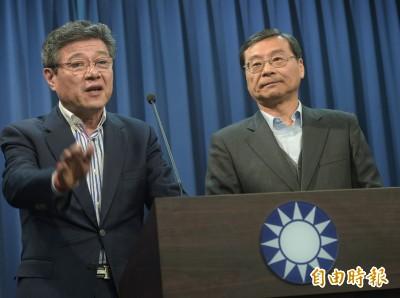王鴻薇質疑林榮德代理黨主席 國民黨:中常委的一致共識